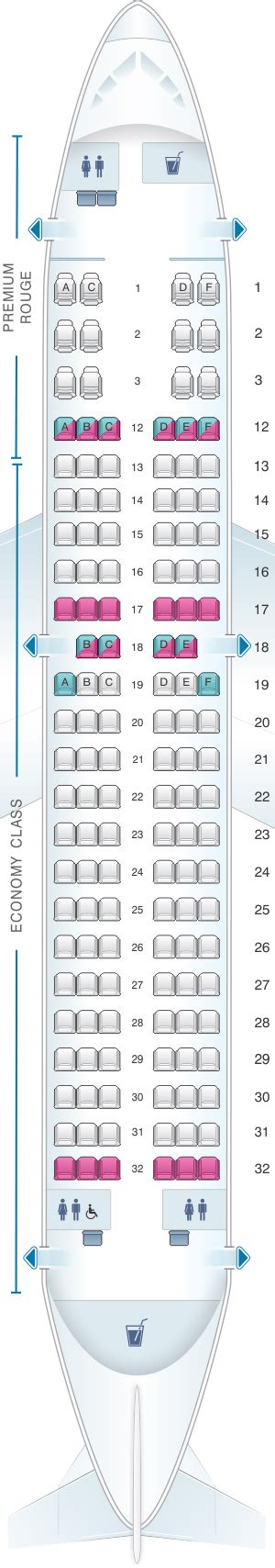siege a320 seat map air canada airbus a319 100 seatmaestro