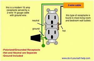 Wiring A Duplex Outlet Diagram