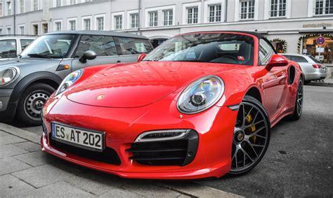 turbo porsche red tomato red porsche 991 turbo s looks delicious