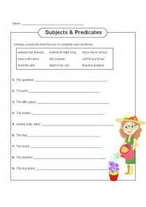 subject  predicate practice subject predicate