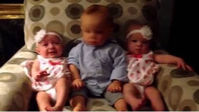 Twins Twin Identical Babies Reaction Re Having