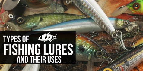 types  fishing lures    fishing lure guide