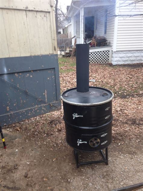 55 gallon drum fireplace potbelly woodstove made from a 55 gallon drum shanty
