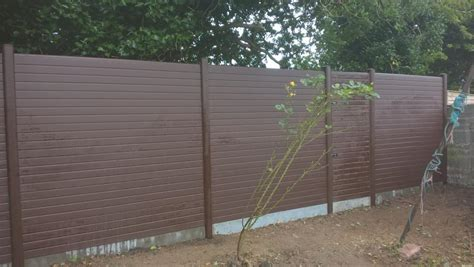 maintenance pvc fencing annaville crescent drogheda colouth
