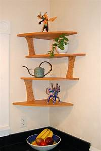 20 cool corner shelf designs for your home wooden With house design new model shelves