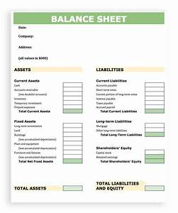 simple balance sheet template for small business haisume With corporate balance sheet template