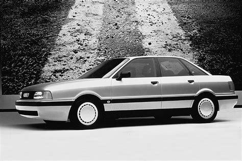 car service manuals pdf 1990 audi 80 engine control 1990 92 audi 80 consumer guide auto