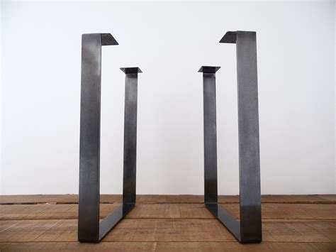 bar height metal table legs 28 flat steel square table legs height option