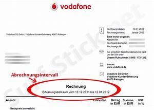 Rechnung Vodafone : der abrechnungsintervall und die auswirkungen auf das datenvolumen ~ Themetempest.com Abrechnung