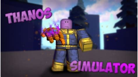 updatethanos simulator roblox