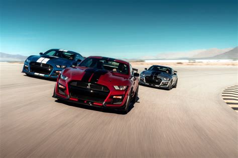 2020 Ford Mustang Shelby Gt500 Is The Fastest Mustang Ever