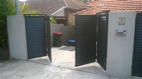 New Bi-folding Automatic Gates. Allows You To Have