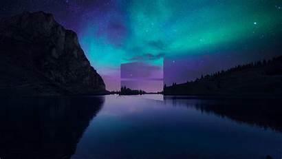 4k Windows Background Wallpapers Pc Aurora Lake