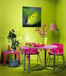 Green Color Scheme Interior Design