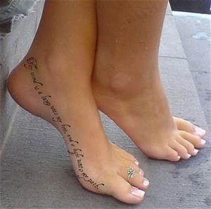 22 sexy quote tattoo placement ideas for women