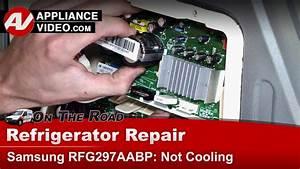 Samsung Rfg297aabp Refrigerator  U2013 Not Cooling  U2013 Inverter