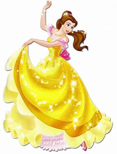 Princess Belle Disney Transparent Clipart Beautifully Beast