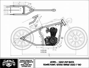 Suzuki Savage Chopper Blueprint