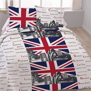 Housse De Couette London 1 Personne : housse de couette 220x240 london tower 2 taies 1 achat ~ Teatrodelosmanantiales.com Idées de Décoration