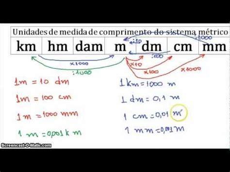 V01  Conversão Unidades De Medida B Youtube