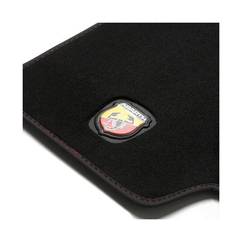 jeu de tapis  abarth logo esseesse pour boite auto