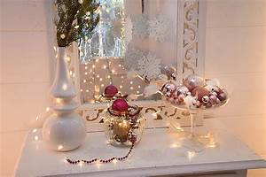 Schalen Deko Ideen : weihnachtliche dekoideen mit lichterketten ~ Whattoseeinmadrid.com Haus und Dekorationen