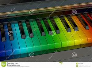 Images Le Piano D Arc En Ciel