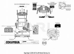 Mtd Ca230 Pro 31ah8eks897  2016  Parts Diagram For Label Map