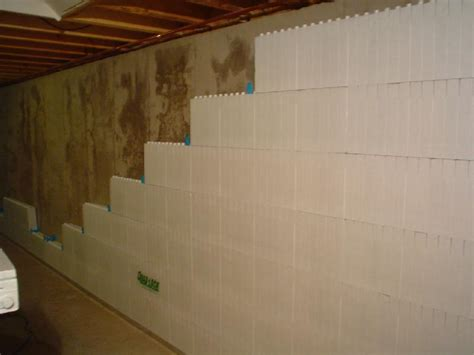 spray painting on plastic drop modern interior design basement wall panels with insulation