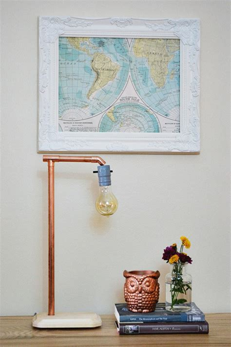 diy copper pipe projects  home decor