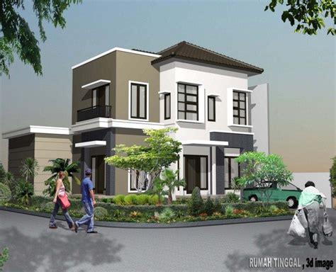 gambar rumah minimalis 2 lantai sederhana 1 konsep rumah