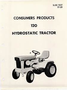 John Deere Riding Mower 120 Hydrostatic Tractor Manual