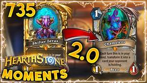Shifter Zerus 2.0...!! | Hearthstone Daily Moments Ep. 735 ...