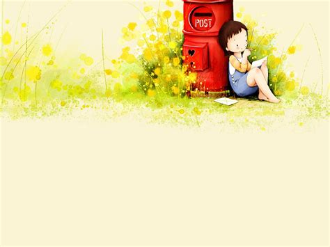 Cute Cartoon Wallpapers For Girls Wallpapersafari