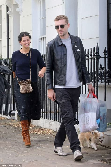 Pixie Geldof enjoys outing with husband George and dad Bob ...