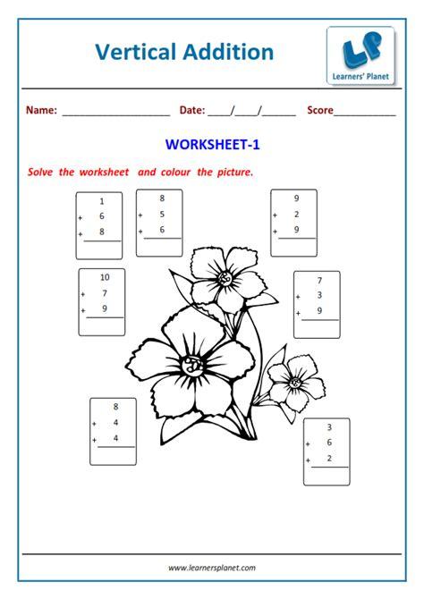 st grade math addition worksheets printable