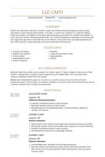 resume that includes volunteer work volunteer work resume sles visualcv resume sles