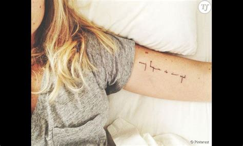 tatouage interieur du bras