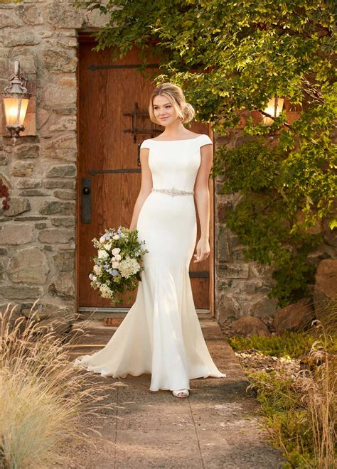 winter wedding dresses essense  australia designer