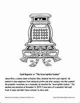 Coloring Milkshake Chocolate Pages Recipe Cash Register Hockey Invented Recipes Mask Shake Worksheets sketch template