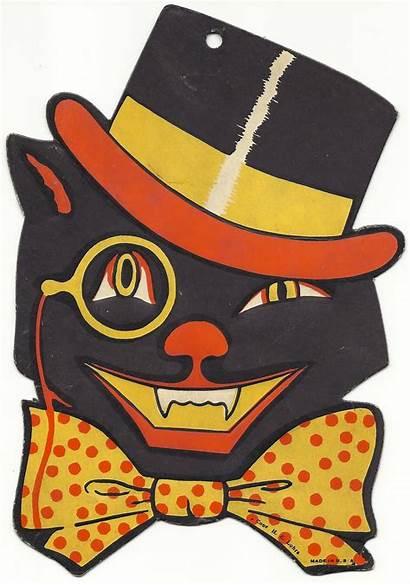 Halloween Clipart Retro Potluck Cat Happy Farm