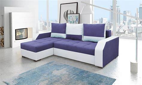 canape d angle violet canapé d 39 angle violet et blanc