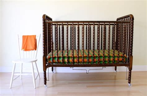 crib toddler bed sheet tutorial with guest from