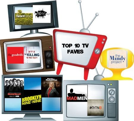 top ten favorite current tv shows  reading date