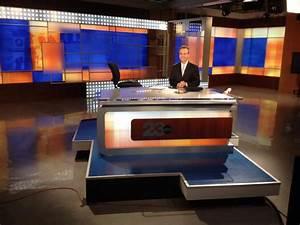 KERO-TV Broadcast Set Design Gallery