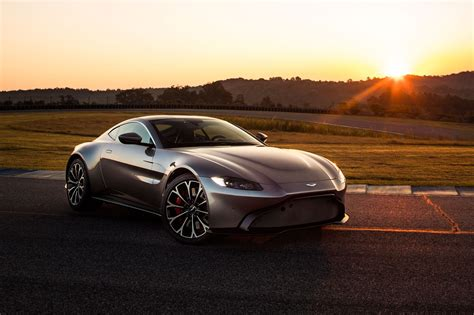 the new 2018 aston martin vantage revealed in pictures car magazine