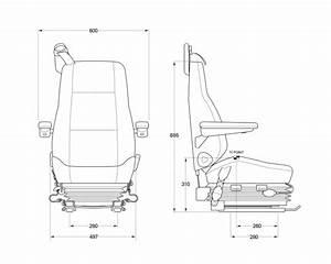 Kab 714b Air Suspension Seat