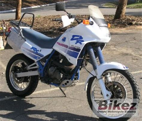 1990 Suzuki Dr650 1990 suzuki dr 650 rs specifications and pictures