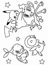 Pokemon Coloring Pages sketch template