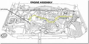 1995 Isuzu Rodeo  3 2 Has Missing Vacuum Line Off